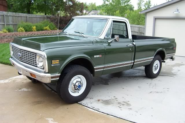 71 Chevy Truck Parts