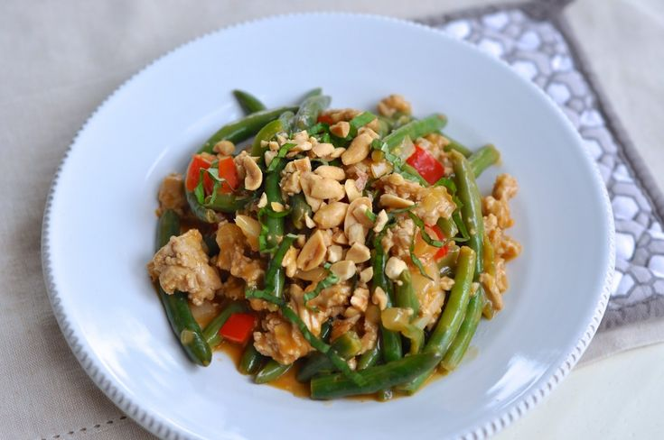 Thai Basil Chicken by Just Pinch Me....I'm making this for dinner ...