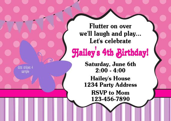 Party Invitation Printable for amazing invitation template