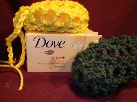 Crochet Soap Holder Body Scrubber Only New Crochet Patterns