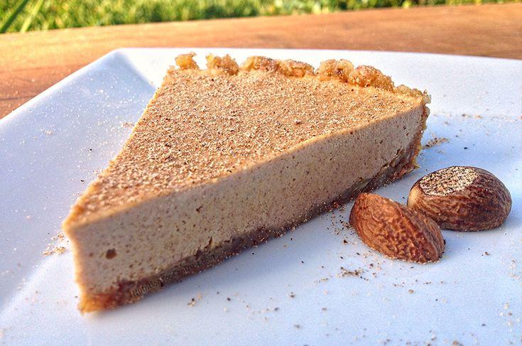 Paleo Eggnog Cream Pie Recipe | Christmas - Paleo Style | Pinterest