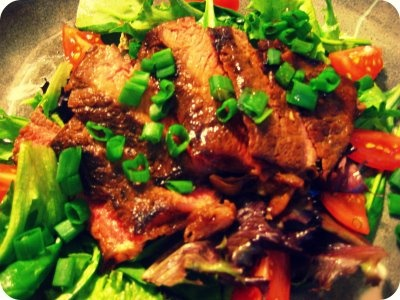 Ginger Steak Salad | Gluttony | Pinterest