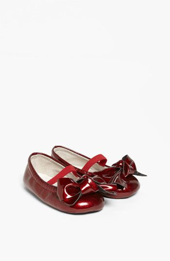 Nordstrom Baby 'Miranda' Flat (Baby) available at #Nordstrom