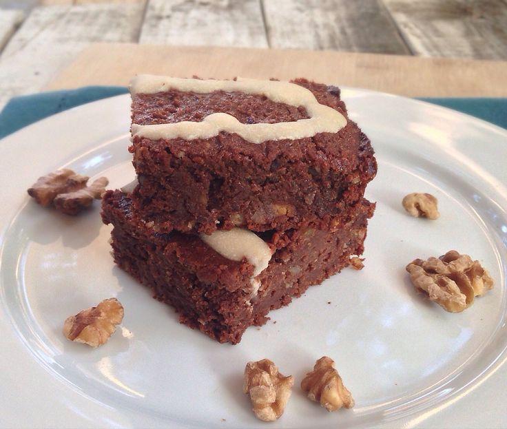 Sweet potato brownies- almonds and avocados.... Best vegan food blog!!