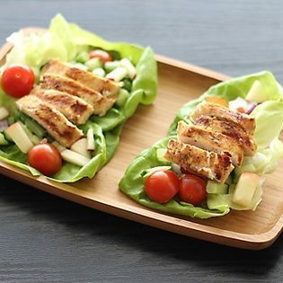 Grilled Island Chicken Lettuce Wraps. #health #fitness #food # ...