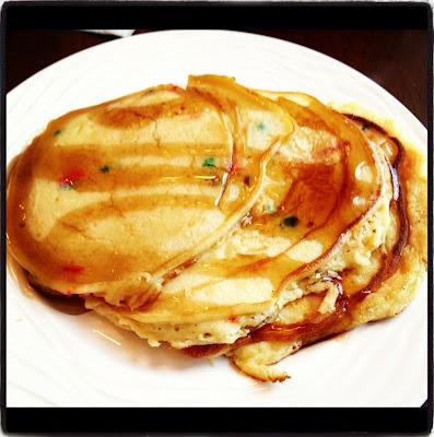Cake batter pancakes | Mealtime | Pinterest