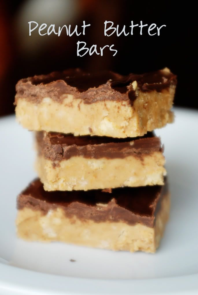 bars peanut butter bars i video allrecipes com no bake peanut butter ...