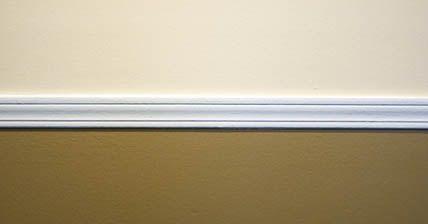 Colocar molduras techo poliuretano gallery of pinturas el as inicio proyectos realizados galer - Cornisa para led ...