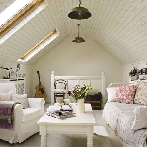 Cozy Attic Bedroom Love Pinterest