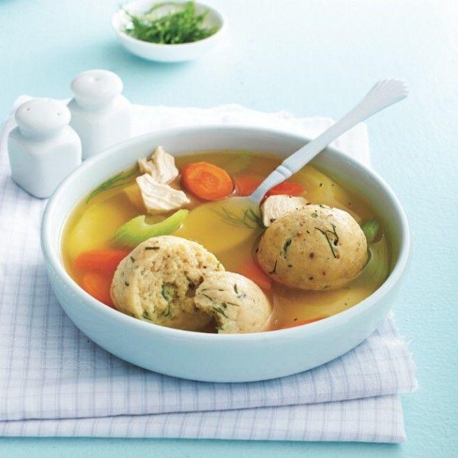 Matzo ball soup | tasty | Pinterest