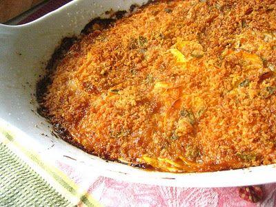 Sweet Potatoe Gratin w/onion and sage | recipes | Pinterest