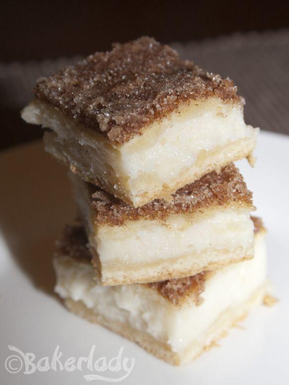 Sopapilla Cheesecake - Bakerlady Saturday lunch dessert