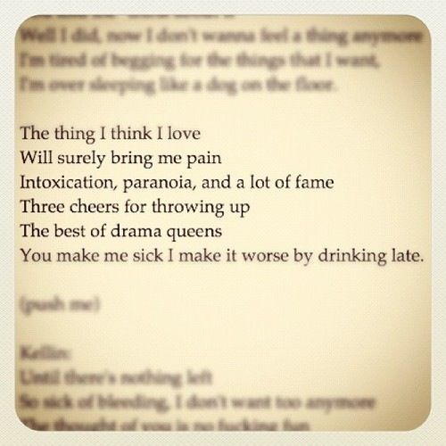 King For A Day Pierce The Veil Lyric Quotes. QuotesGram