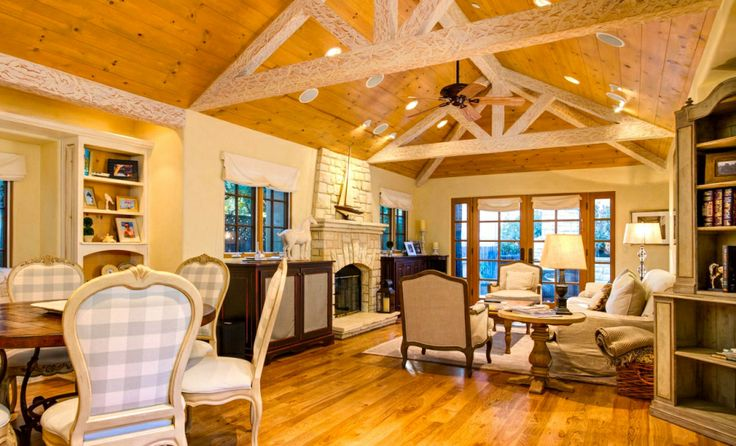 Lovely Open Floor Plan Cottage Style Pinterest