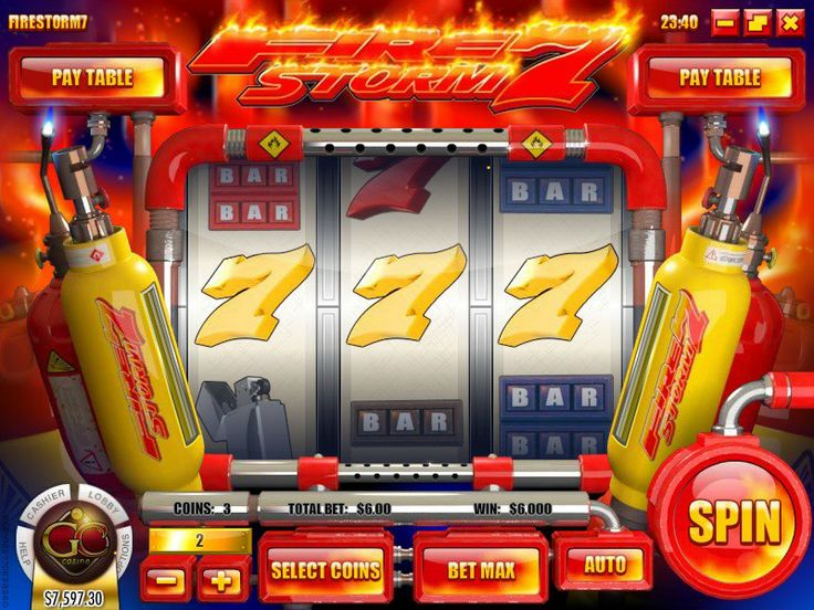 Is On FIRE Hot Win On Firestorm 7 Slot At Golden Cherry Casino