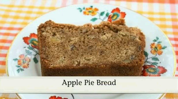 Apple pie bread | Cooking Ideas | Pinterest