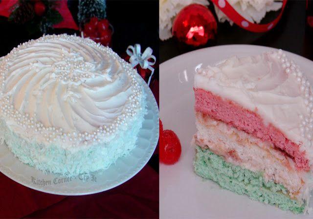 Neapolitan Christmas Cake | Food - Sweet | Pinterest