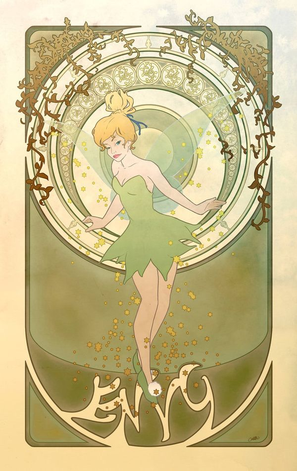 Tinkerbelle is Envy [Princesses as the 7 Deadly Sins]