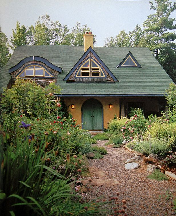 This is an amazing straw bale house for the home pinterest - Straw bale house ...