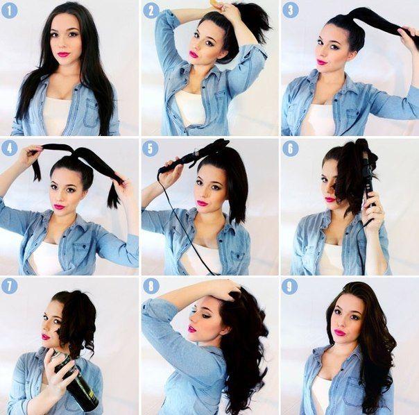 Как сделать красивые локоны волосы в домашних условиях