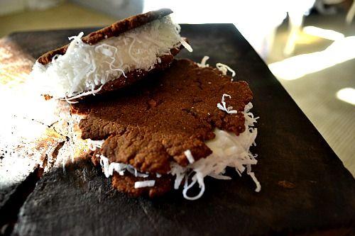 cream sandwiches recipe dishmaps ginger crisp ice cream sandwiches ...