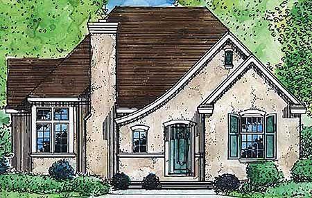 Comfortable Cottage Home Plan