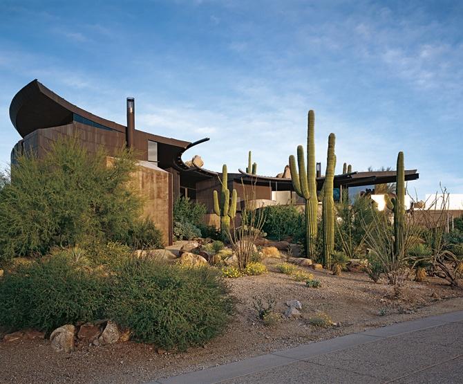 Southern california desert home modern pinterest for Modern homes arizona