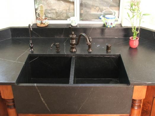 Searching for a Soapstone Sink Cottage Kitchens & Dining Pinterest