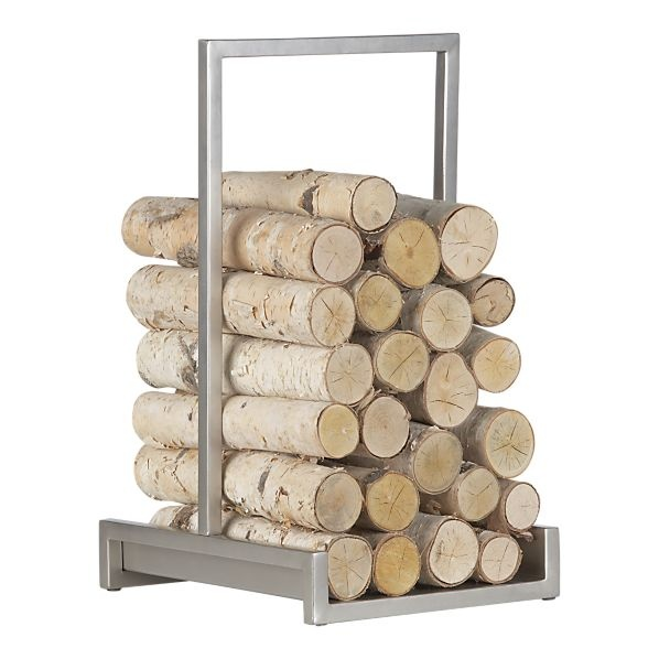 alton pewter log holder
