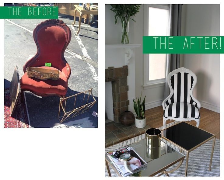 flea market flips before and afters | the flip: before/after flea market chair. | refinishing furniture