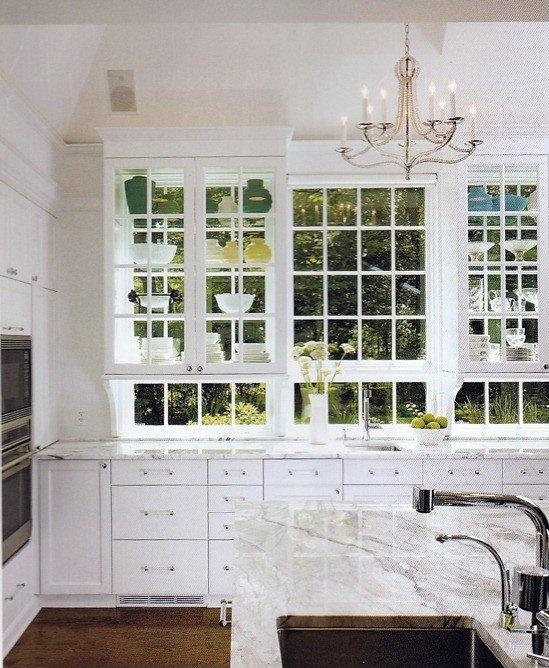 Kitchen Shelves Over Windows: Shelves Over Windows