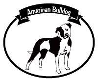 American bulldog silhouette - photo#21