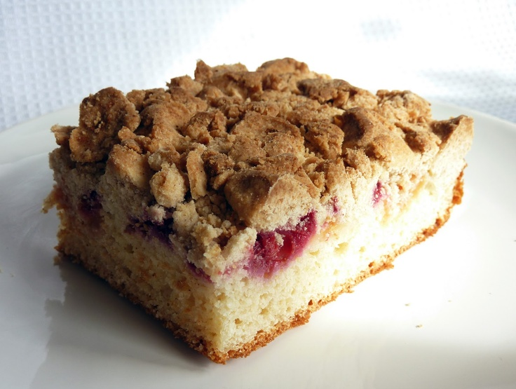 ... blueberry crumb cake open the oven take a look raspberry crumb cake