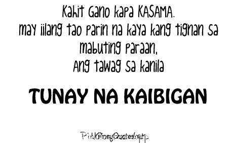 Tunay Na Kaibigan Quotes. QuotesGram