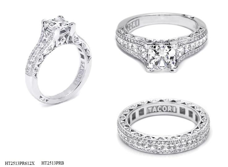 bridal sets tacori wedding ring sets