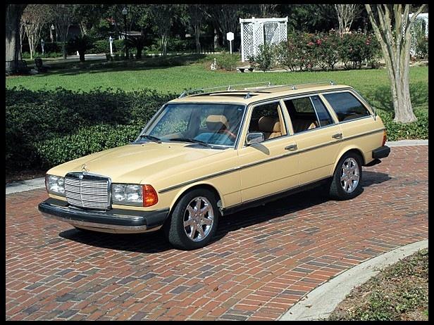 1982 mercedes benz 300td estate wagon automobiles for Mercedes benz estate wagon