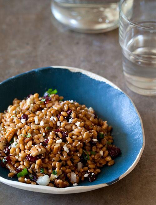 wheat berry salad | Vegan Recipes and Recipes I can make Vegan! | Pin ...