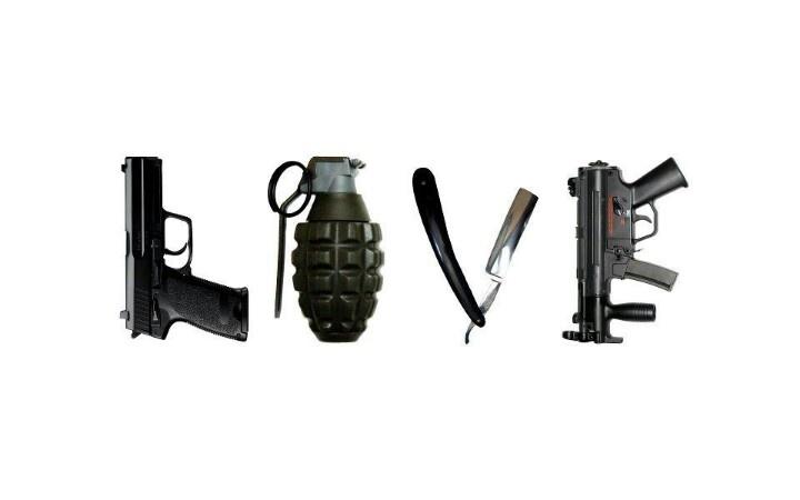 valentine at which gun