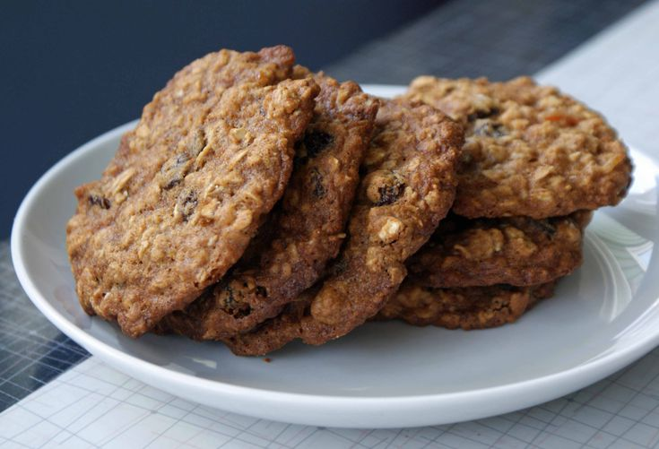 Grandma's Oatmeal Cookies Recipe — Dishmaps