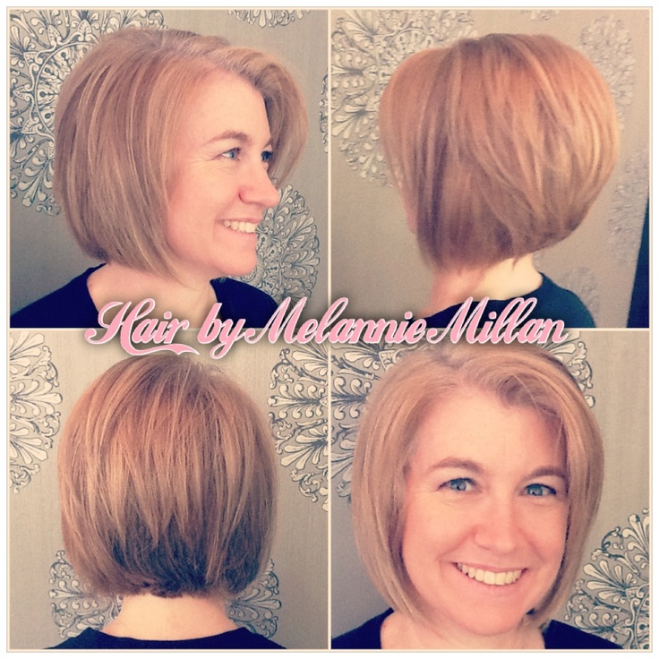 hilites and #lolites for gray blending, and a cute #bob #hair cut