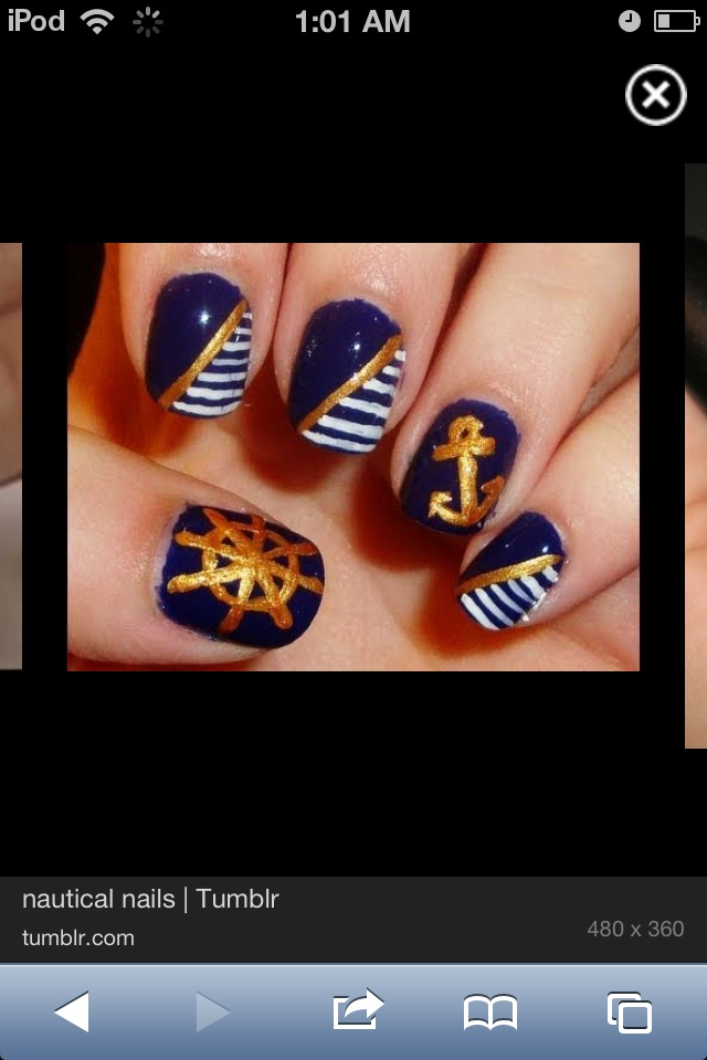 Magnificent Cute Anchor Nails 640 x 960 · 108 kB · jpeg