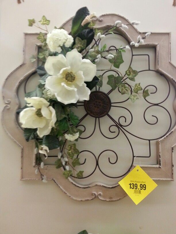 Wall arrangement floral design phase pinterest - Picture arrangements on wall ...