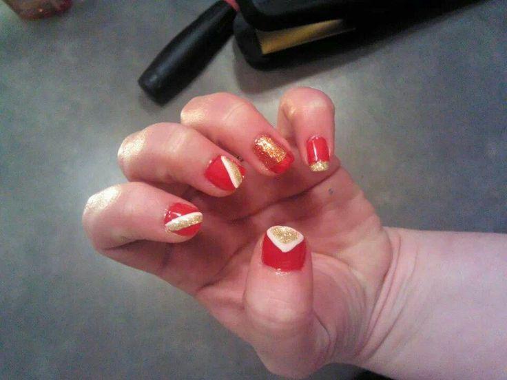 49ers nail art   Nails   Pinterest