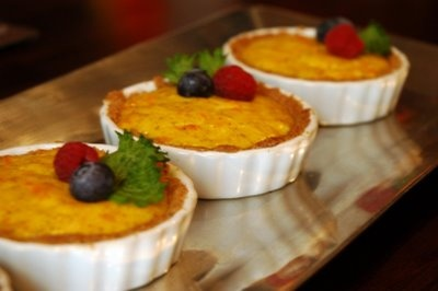 Chamomile Kumquat Tart | Just Desserts | Pinterest