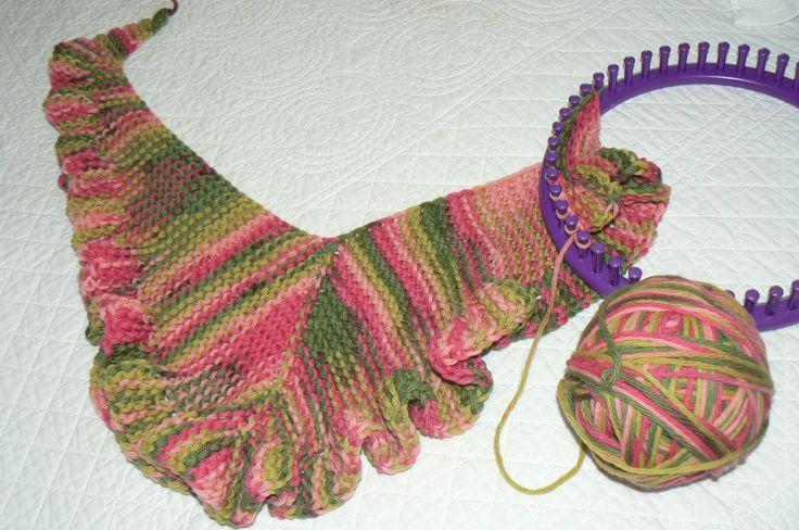 Pin by Barbara Farnsworth on Crafts/Knifty Knitter, Loom Knitting P?