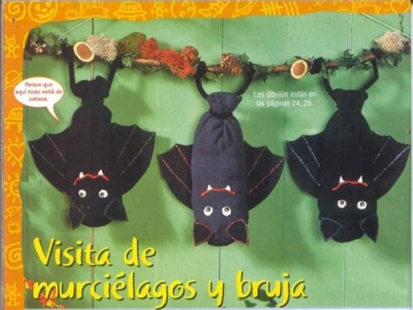 Pin by moeder de gans on school herfst pinterest - Murcielagos para halloween ...