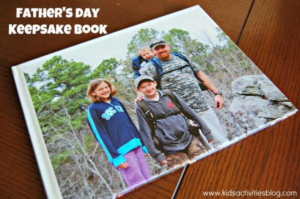 make a father's day book
