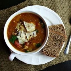 Lentil and Roasted Vegetable Soup | #Recetas... | Pinterest
