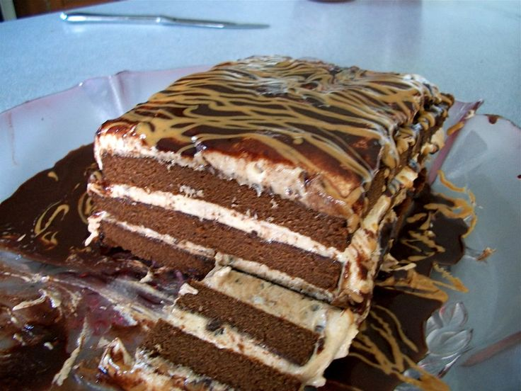 Chocolate Peanut Butter Bliss Torte