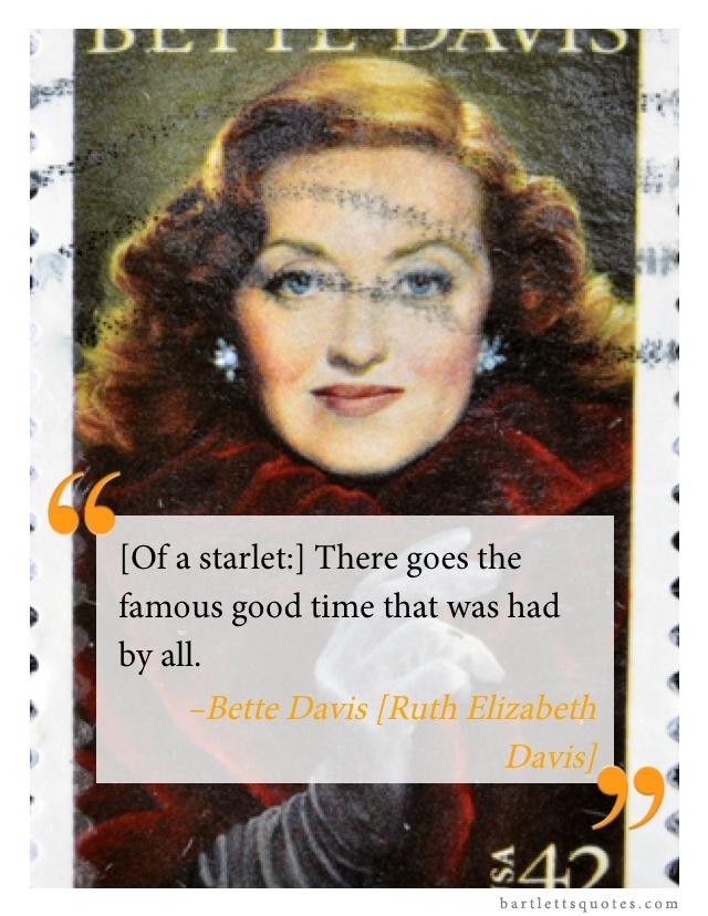 Happy Birthday Bette Davis Quoto Pinterest